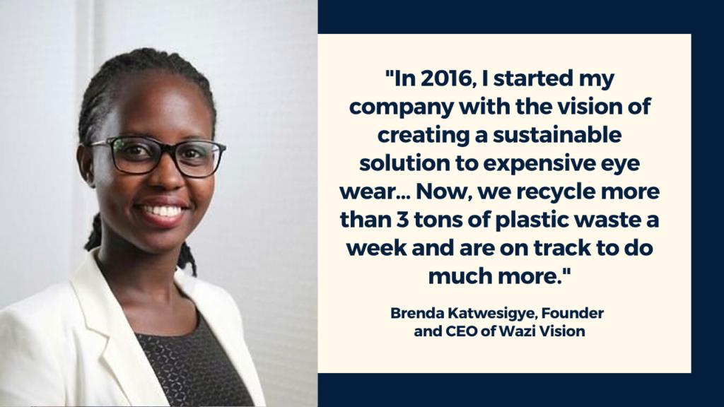 Brenda Katwesigye, Wazi Vision