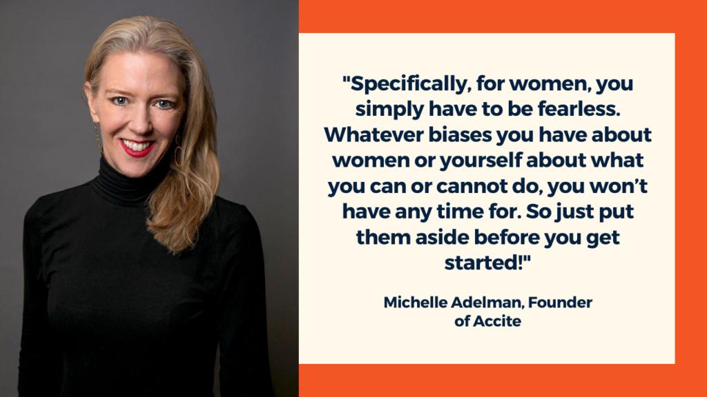 Michelle Adelman, Accite