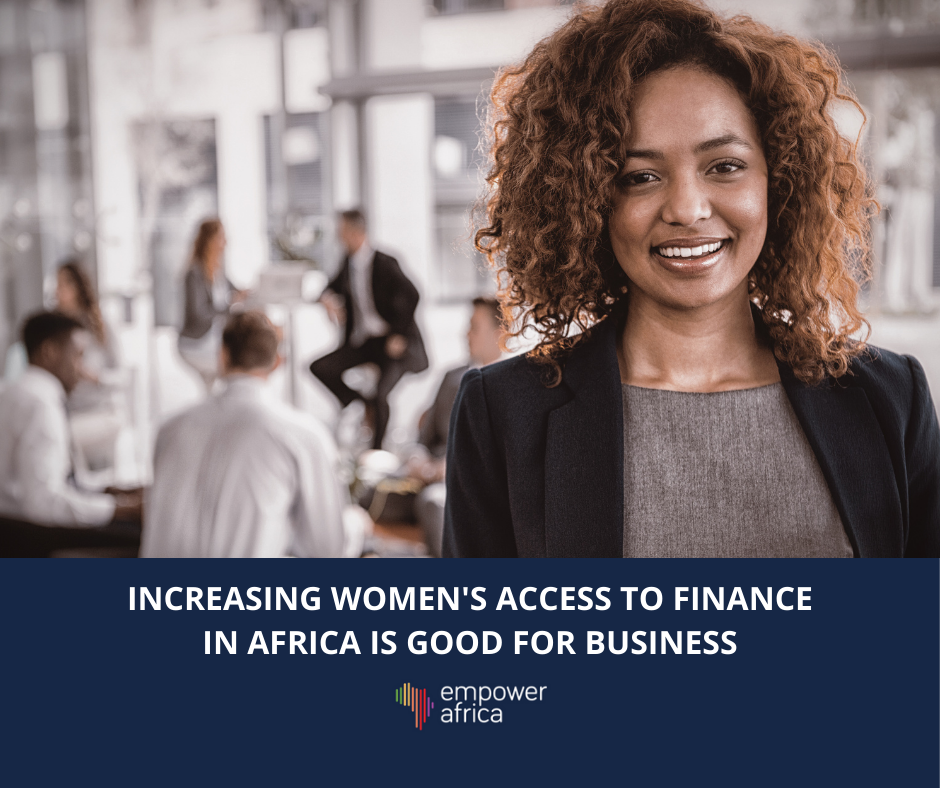 Increasing Women's Access to Finance in Africa is Good for Business