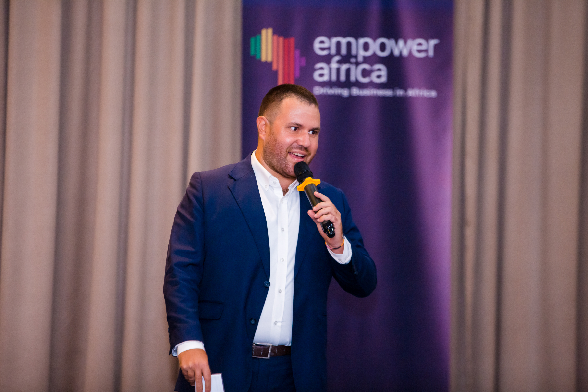 Driving Business in Africa Dinner in Kigali, Rwand